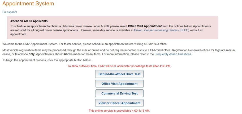 News - DMV California