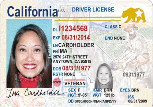 California Real ID Checklist