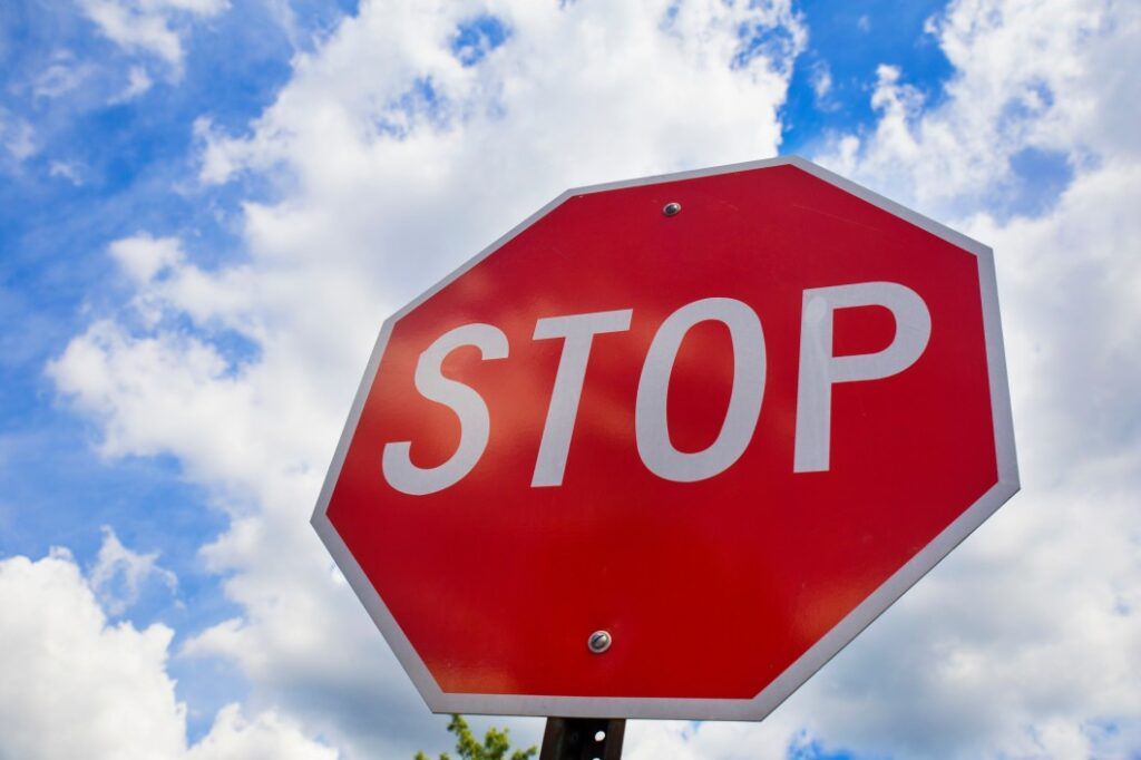 Roadway Signs, Stop Sign
