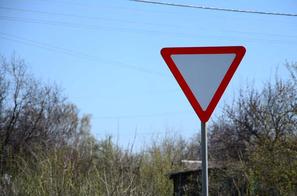 Roadway Signs - Yield